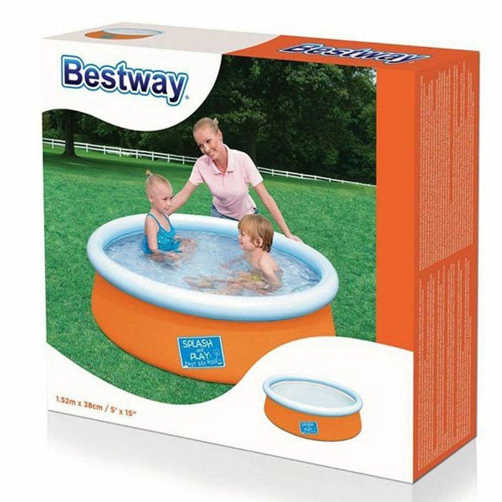 Bestway My First Fast Set Above Ground Pool - Orange