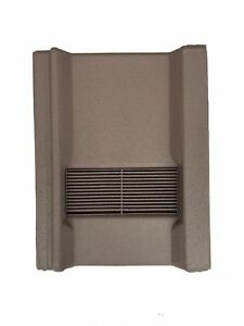Roof-Tile-Vent-To-Fit-Marley-Wessex-Roof-Tiles-Brown-Granular-8-Colours