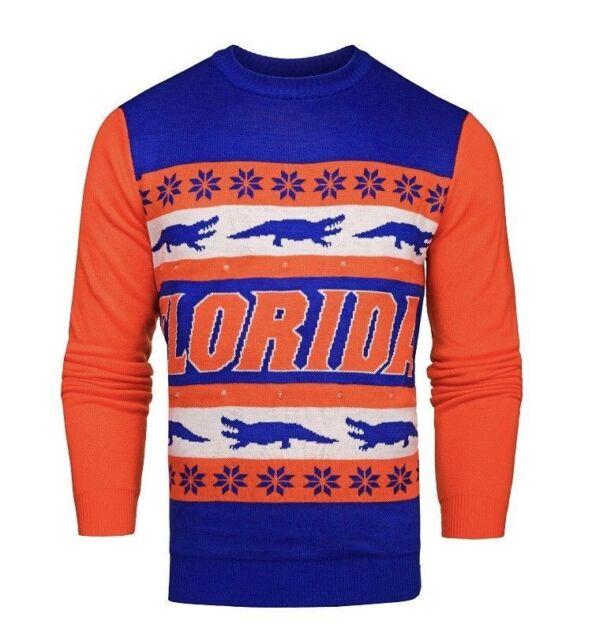 huge selection of 63712 78c74 NWT Florida Gators Light 'em Up Men's Christmas Ugly Sweater Lights Large &  XL