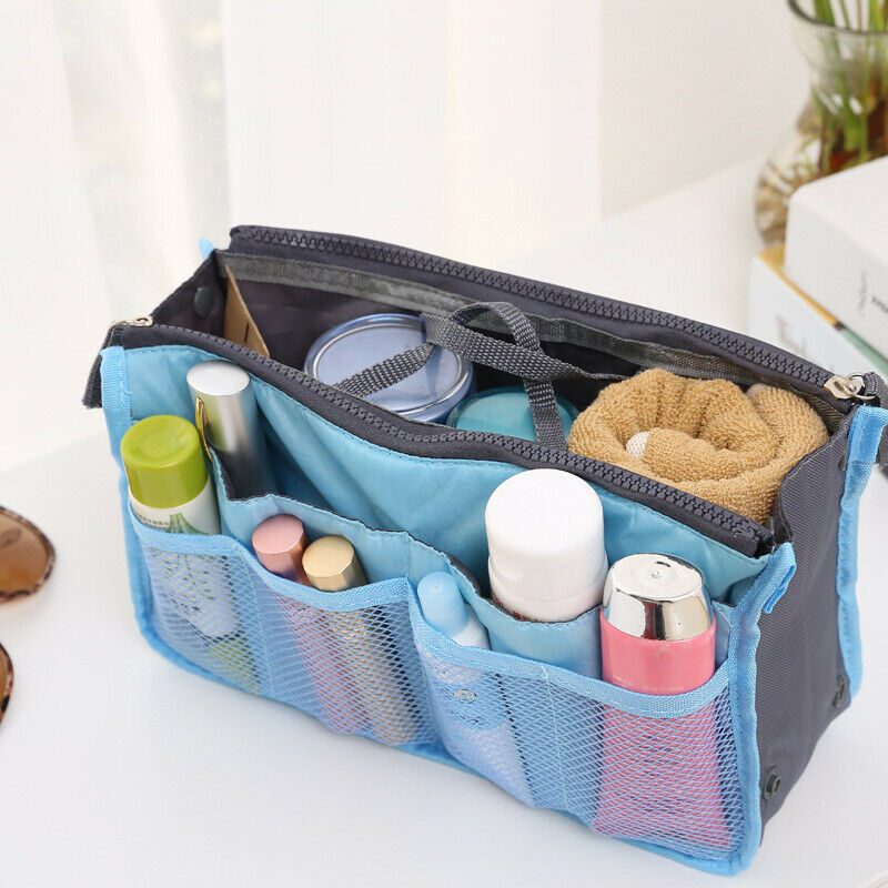 1pcs Women Travel Insert Makeup Handbag Organiser Purse Tidy Bag Pocke... - s l1600