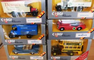 CORGI-Classics-vintage-scale-model-car-miniature-toy-cart-806-816-824-888-913