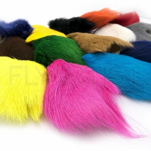 Deer Belly Cheveux Pour Fly Tying de traduire 6 couleurs fly tying hair