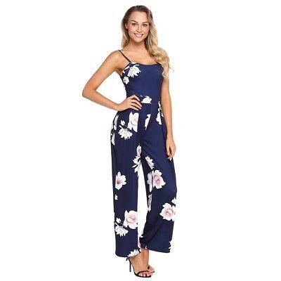 Vestidos Enterizos Maxi Largos De Moda Para Mujer Estampados Elegantes Casuales Ebay