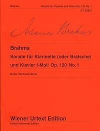 Contemporary Open-Minded Brahms Sonata Op120 No 1 Fmin Clarinet Or Viola Aromatic Flavor