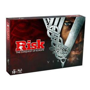 Risk-Vikings-Juego-de-Mesa-de-2-a-5-jugadores-5-Tribus-Version-en-Espanol