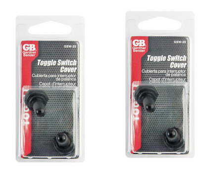 RUBBER TOGGLE SWITCH COVERS 2701969 2 GB GARDNER GSW-20