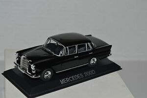 Legendary-Cars-MERCEDES-200-D-W110-1-43-Die-Cast-MZ