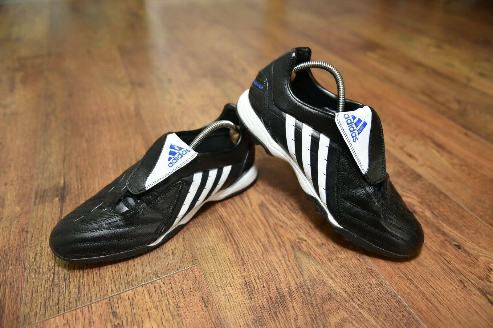 Adidas Protator Powerswerve Astro Turf Football Stiefel Trainers UK 10 Pulse VGC