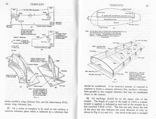 WW2 US Navy Aircraft Manufacture--Aircraft Tooling Templets