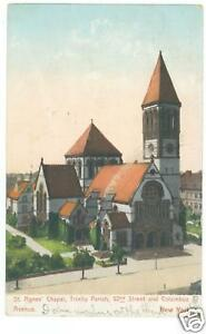 ST  AGNES CHAPEL, WEST 91ST  COLUMBUS TO AMSTERDAM, NYC | eBay