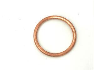 Kupfer Dichtring 30x36x2,5 mm Kupferdichtung 5 Stück Dichtringe DIN 7603 Form C