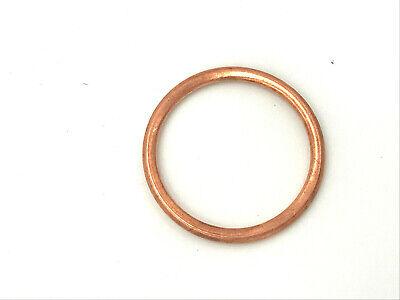 Unterlegscheibe aus Kupfer 10x14x1 mm 50 Stück