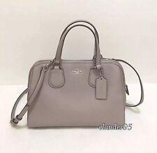 50b9566e35d9 ... Small Kelsey Satchel Crossbody Bag F36675 Heather Grey New COACH 59180E  Pebbled Nolita Leather Satchel Handbag Crossbody Bag Grey Birch ...