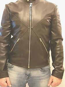 Versus-Versace-leather-bomber-jacket-size-EU-54-UK-XXL-in-black-bu50078-gold-zip
