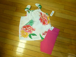 NWT Old Navy Toddler Girls Size 3t 4t or 5t Be Kind Tunic Top /& Yellow Leggings