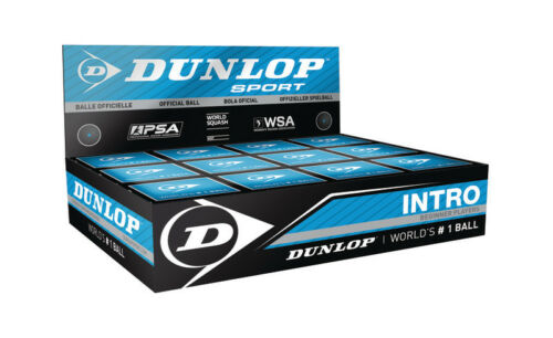 Pack of 12 Pack of Training Squash balls NEW Dunlop Max Beginner Squash Ball