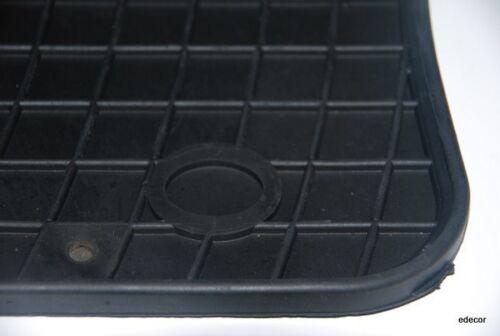 Gummifussmatten für Honda Civic VII Bj Automatten 2001-2005 schwarz 4-tgl