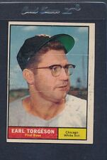 1961 Topps #152 Earl Torgeson White Sox VG *140