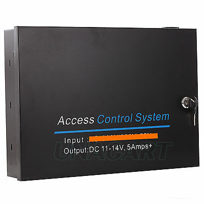 Input: AC110V to Output: DC11-14V 3.5A Power Box Supply For Door Access Control