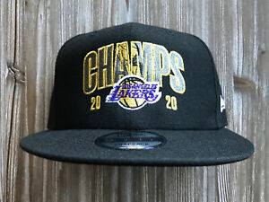 Los Angeles Lakers New Era 2020 NBA Finals Champions Bold ...