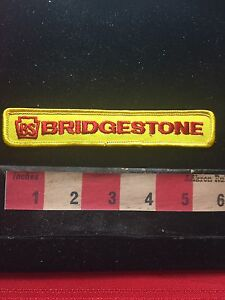 Vtg-BRIDGESTONE-Tire-Advertising-Patch-C761