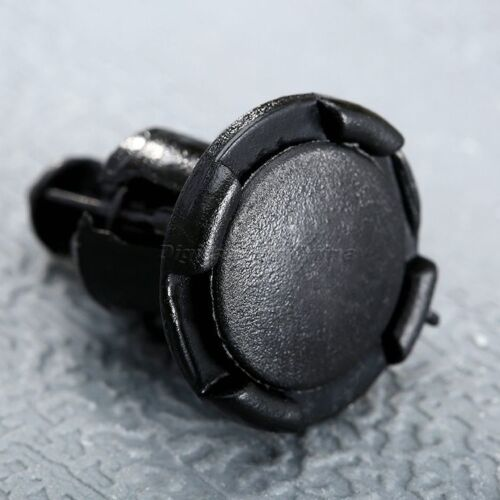 50Pcs Black Bumper Fender Retainer Clips MR200300 for Car Mitsubishi Honda