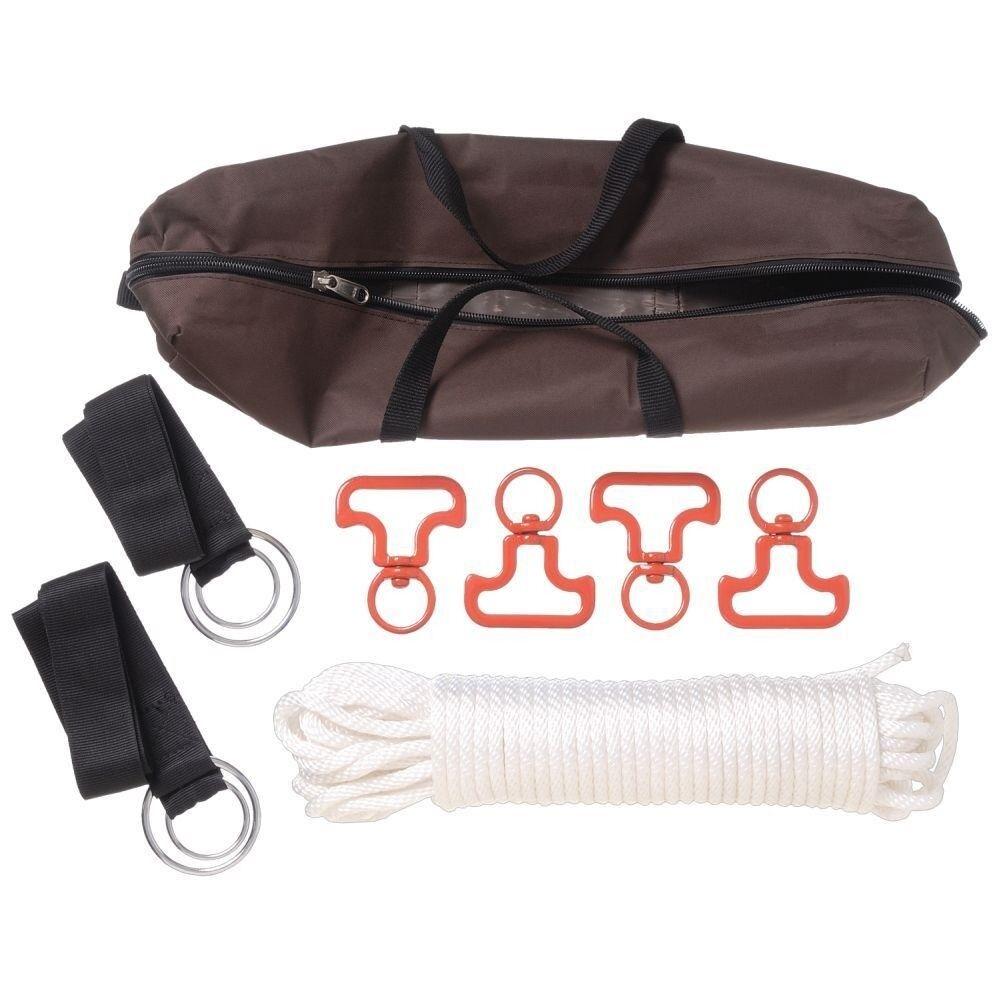 Tough1 Fourcavallo Picket Line Kit with Knots, Rope, e Tree Straps