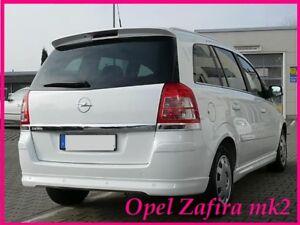 OPEL ZAFIRA B Rear Spoiler