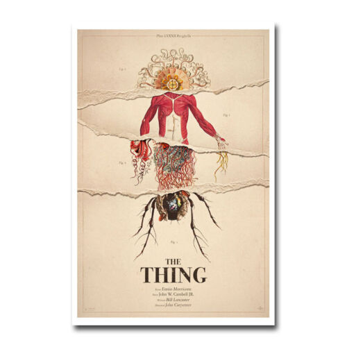 The Thing Classic Horror Movie Silk Canvas Poster Film Print 12x18 24x36 inch