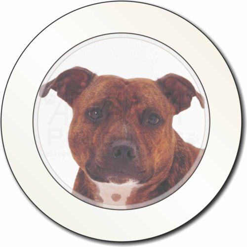 Staffordshire Bull Terrier Dog Car/Van Permit Holder/Tax Disc Gift, AD-SBT6T