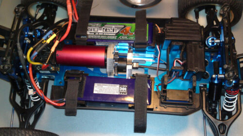 Thunder tiger mta4 Ae mgt 4,6-8 rival  center diff  brushless conversion