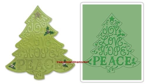 CHRISTMAS #2 657370 Plus EMBOSSING FOLDER! Sizzix BIGZ TREE