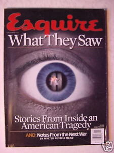 ESQUIRE-November-2001-What-They-Saw-The-Next-War-Michael-Jordan-Al-Green-Bacon