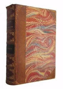 History-of-New-York-City-antiquarian-leather-bound-history-of-NYC-from-1872