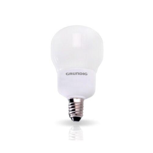 Grundig Lampadina a Risparmio Energetico Forma Compact 5W E14 luce calda