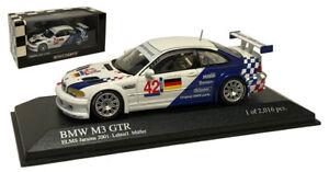Minichamps-BMW-M3-GTR-42-ELMS-Jarama-2001-Lehto-Muller-1-43-Scale