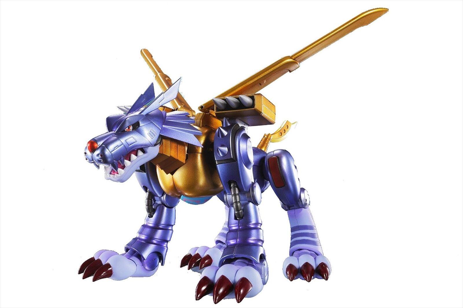 Bandai Tamashii Nations de S.H. Figuarts Metal Garurumon Digimon Figura De Acción