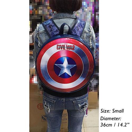 Unisexe Shield Civil D'épaule À New Avengers Captain War America Dos Sac q7ZFXY