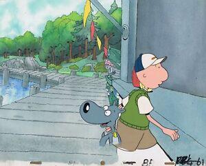 Doug Funnie Original 1990's Animation Art Production Cel Boardwalk