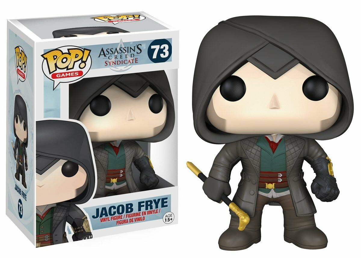 Funko Pop Vinyl Figure    Games  Assassin's Creed Sydicate - Jacob Frye Vaulted 97d45f
