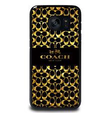 Glitter Coach Logo Samsung Galaxy S3 S4 S5 S6 S7 Edge Plus Note 3 4 5 Case