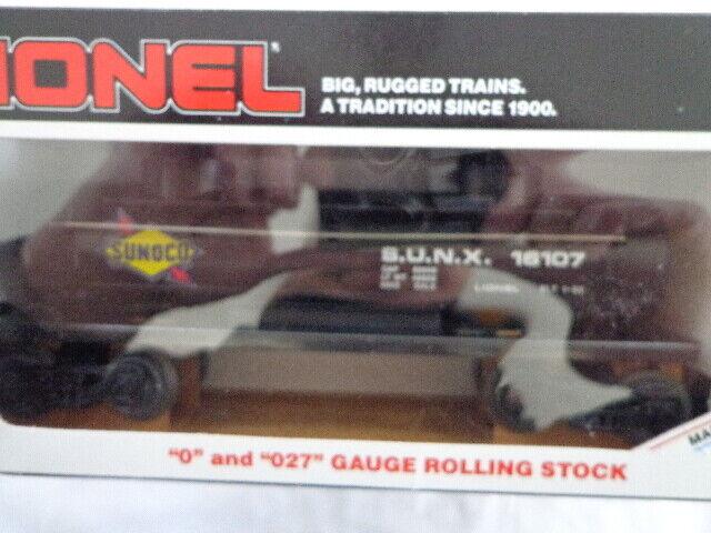 servicio considerado Lionel O y calibre O27 Tanque De Cúpula de Sunoco Sunoco Sunoco dos coche  costo real