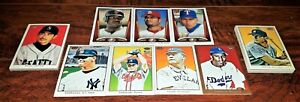 WHOLESALE LOT 2002 2009 2010 TOPPS 206 ALEX RODRIGUEZ VAR SP, MANTLE PUJOLS CY+