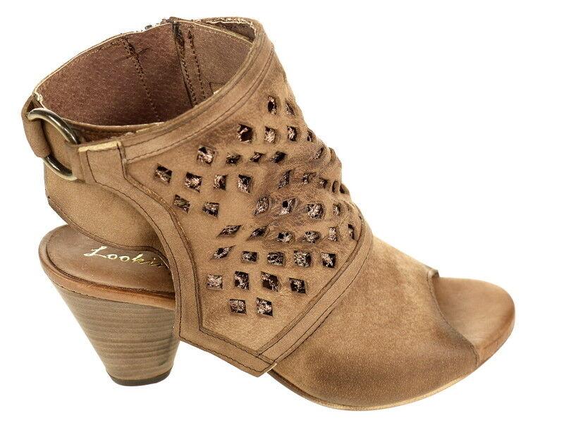 Looking Schuhe Halbschuh Sandalette Toy05 braun Gr. 40 Original Neu und OVP