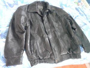 bad7033e9 Details about Maxam Genuine Leather Jacket- Italian Mosaic Top Grain  Lambskin: Men's XL: Black