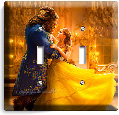 Belle Beauty and the Beast Light Switch Plate Cover