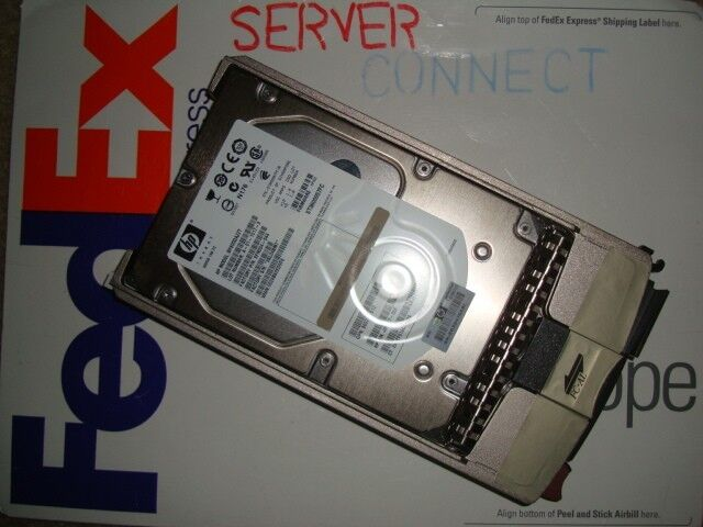 HP AP751A HP 600GB 15K RPM Dual-Port 2//4 Gb//s FC-AL 1-inch 2.54 cm Drive