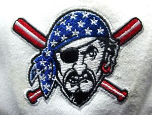 Pittsburgh Pirates Baseball Hat Red White Blue Embroidered Cap 1997
