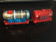 Thomas The Train Take N Play Jet Engine Jet Fuel Diecast Lights Sounds
