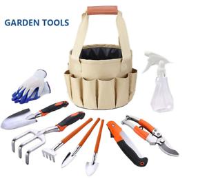 Garden Tools Set 10 Piece Heavy Duty Gardening Kit Gardening Tools with Gloves